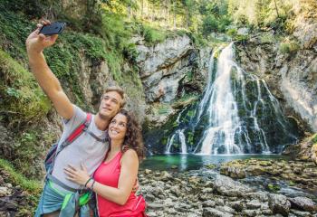 Gollinger Wasserfall| Golling falls
